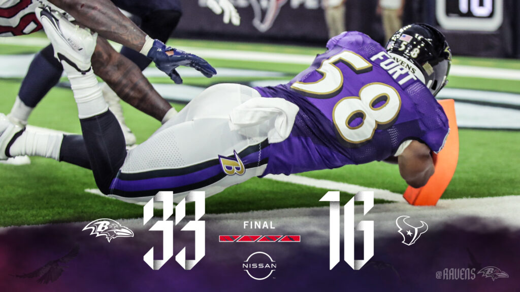 Ravens Advance to (2-0)