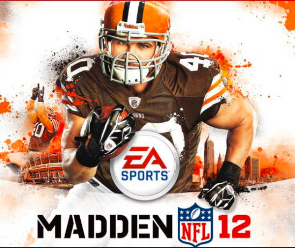 Peyton Hillis on Madden Cover