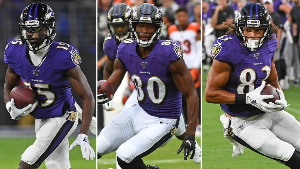 Ravens Wide Receivers Still a Mystery