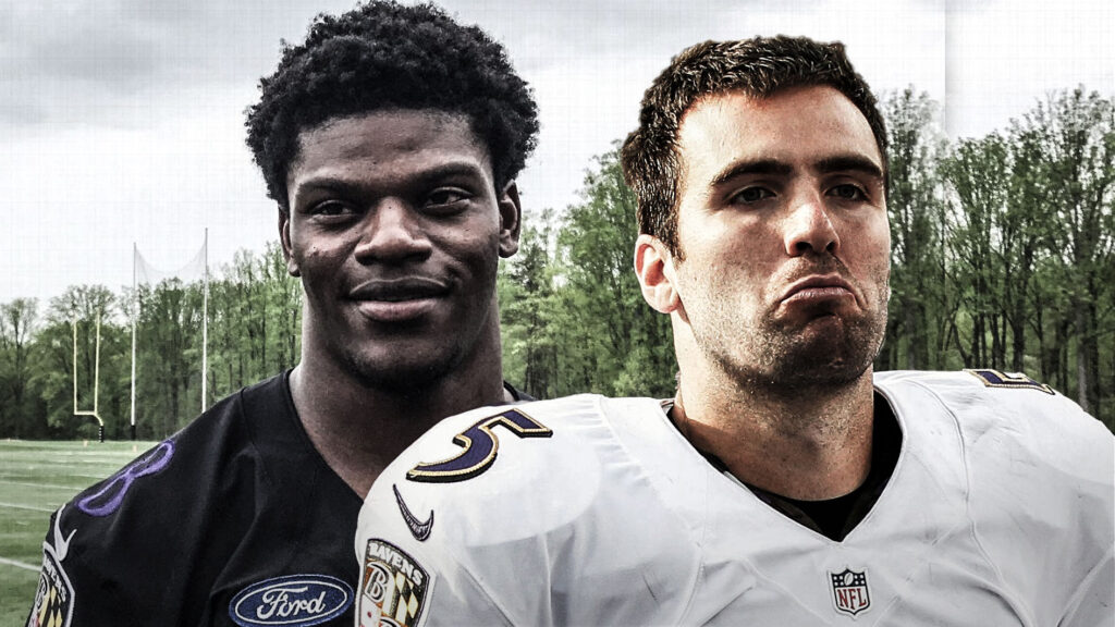 Flacco v. Lamar in The Postseason