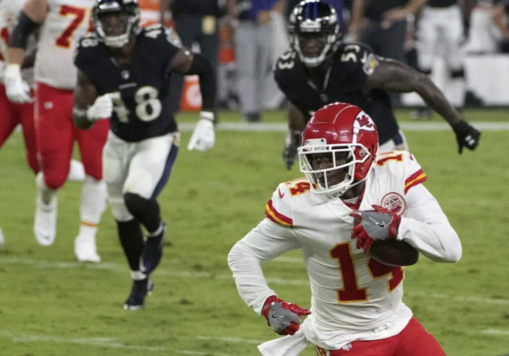 Ravens Sign Sammy Watkins to 1-Yr Deal
