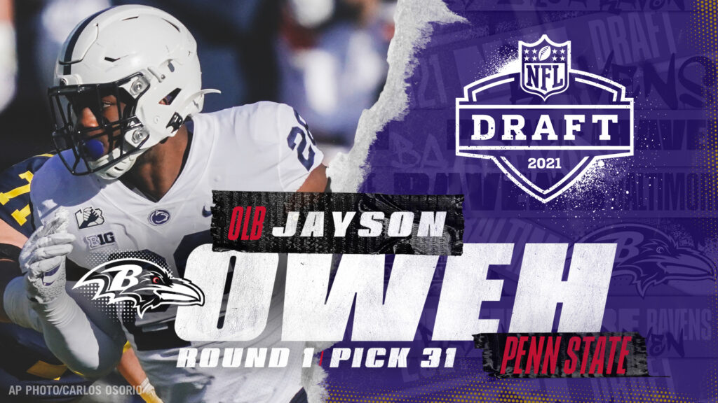 Ravens Draft Day 1 Recap