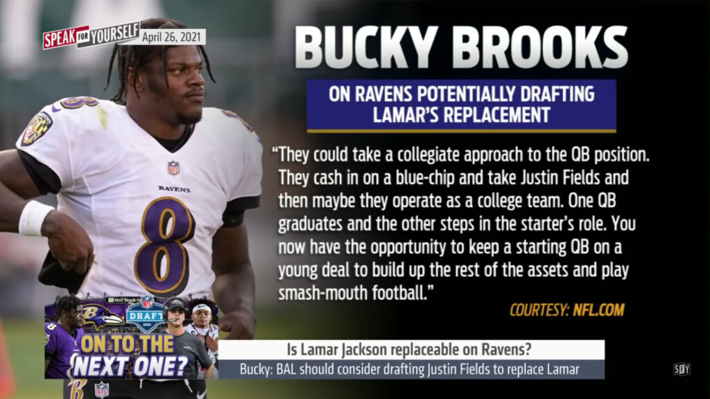 Bucky Brooks Needs a Breathalyzer