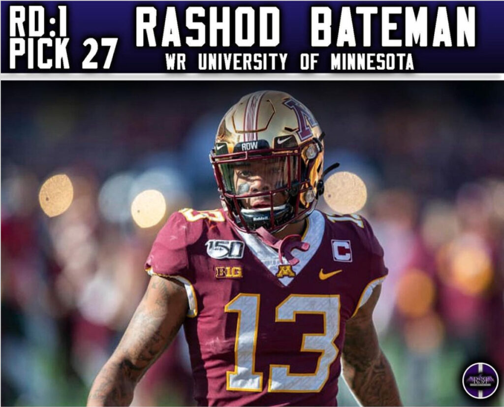 Rashod Bateman: The Perfect Fit